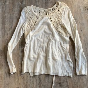 🤍 Free People Top, Size small